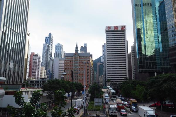 香港街並み2