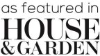 As featured in House & Garden