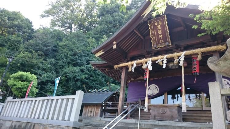 毛谷黒龍神社_拝殿