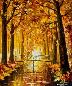 Long Before Winter by Leonid Afremov