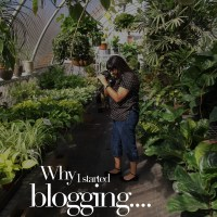 Why I started blogging....
