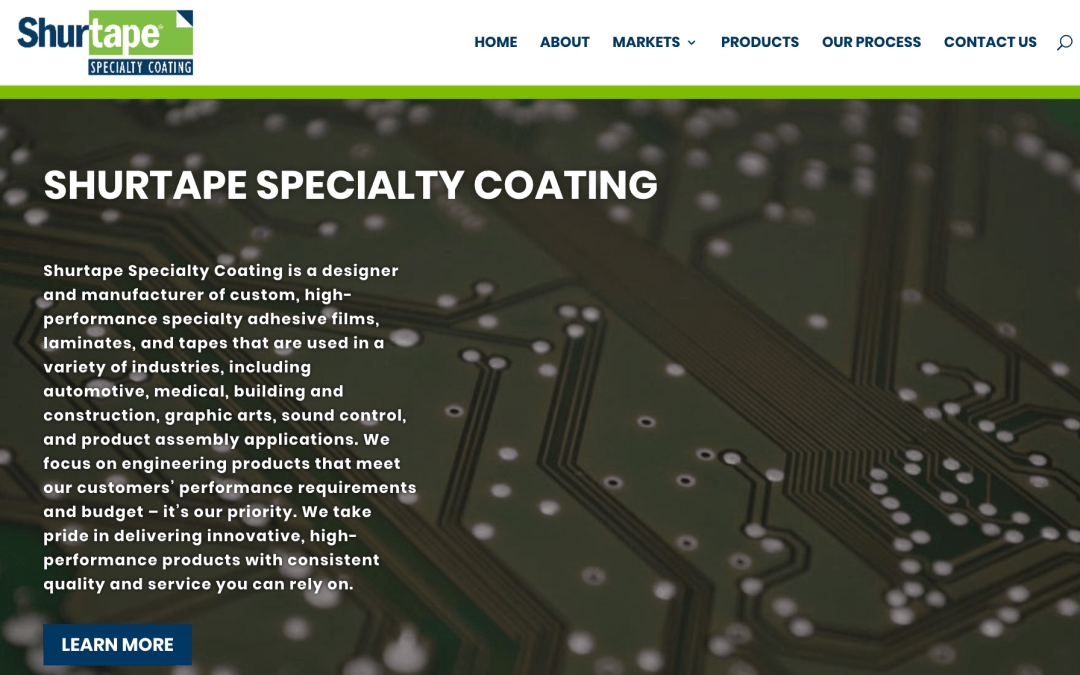 Shurtape Specialty Homepage Image