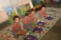 Children participating in the project
