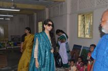 Arrival of internationally acclaimed classical vocalist, Kaushiki Chakraborty