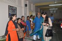Kaushiki Chakraborty interacts with prisoners as Mr. Chitta Dey introduces them one by one