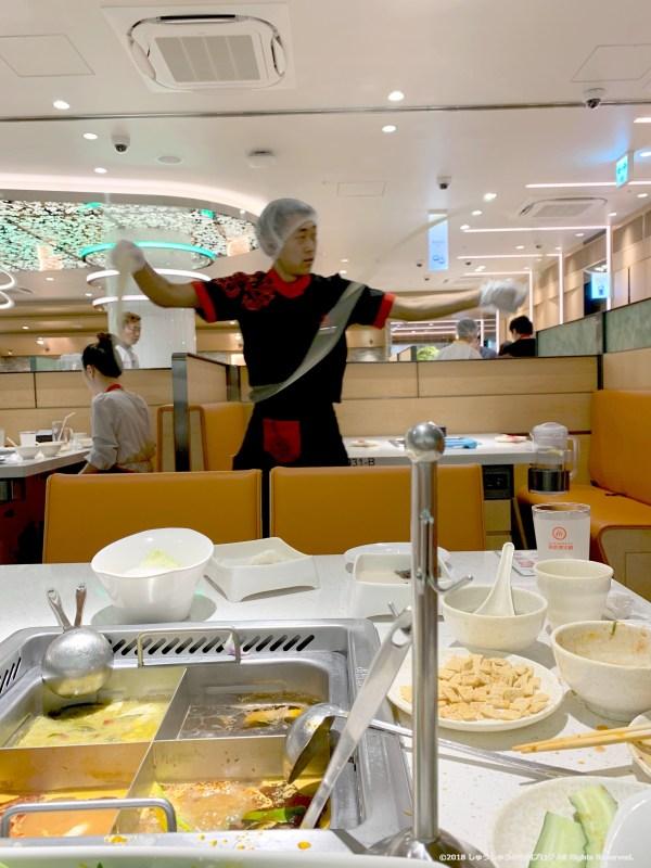 心斎橋海底捞のカンフー麺