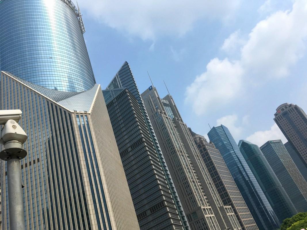 陸家嘴の高層ビル群その2
