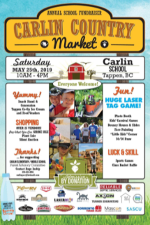 Carlin Country Market and Fair Poster
