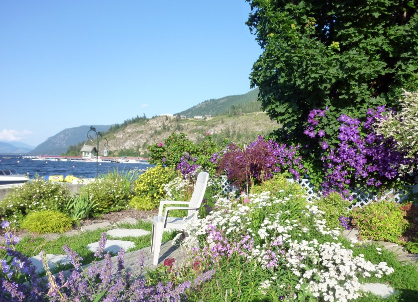 Gardens at Shuswap Vacation Rental in Chase BC