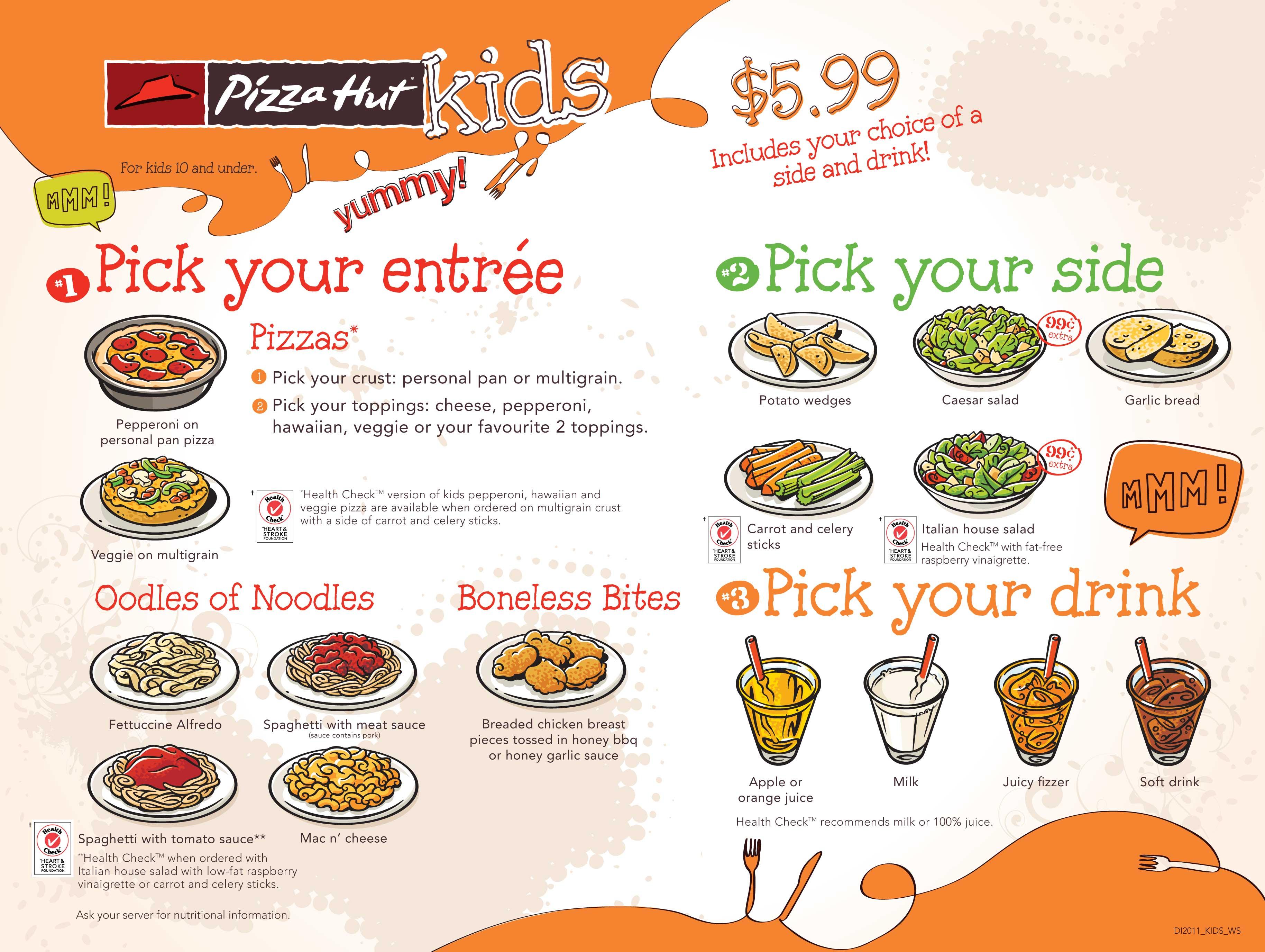 The Best Kids Menu In America When Fun Gets Over Food