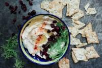 vegan almond yogurt labneh