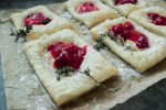 how o make vegan cream cheese danishes with a puff pasty