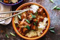 perfect orange tempeh recipe