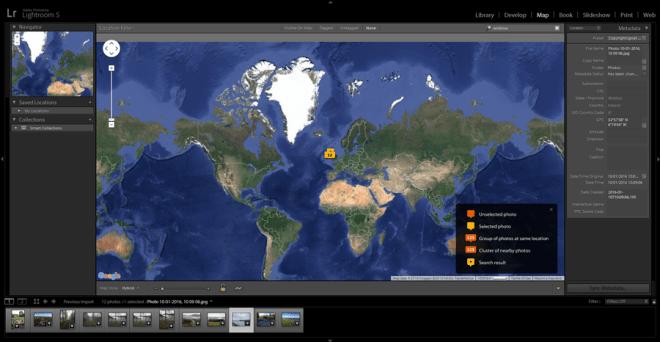 Adobe-Lightroom-Map-Module
