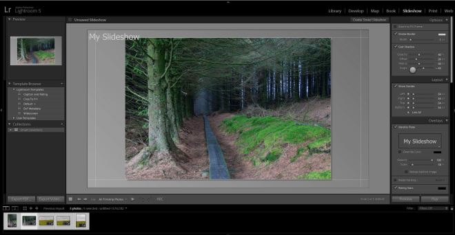 Lightroom-Slideshow-Module-Workspace