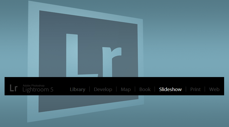 Adobe Lightroom Slideshow Module