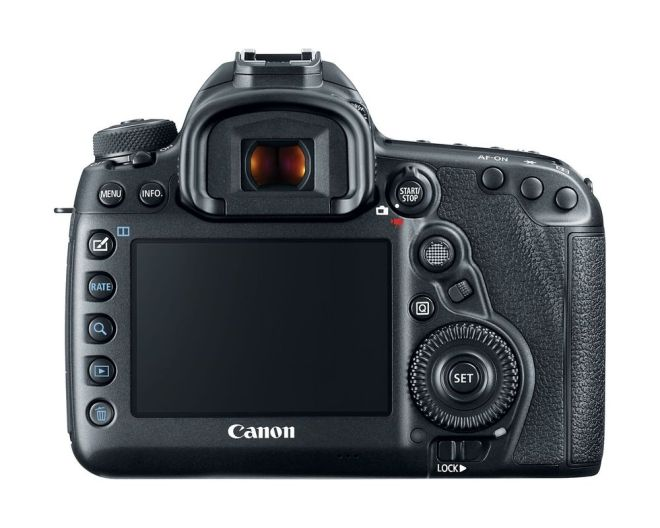 Canon EOS 5D Mark IV back