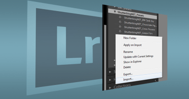 Importing Lightroom presets (free presets included)