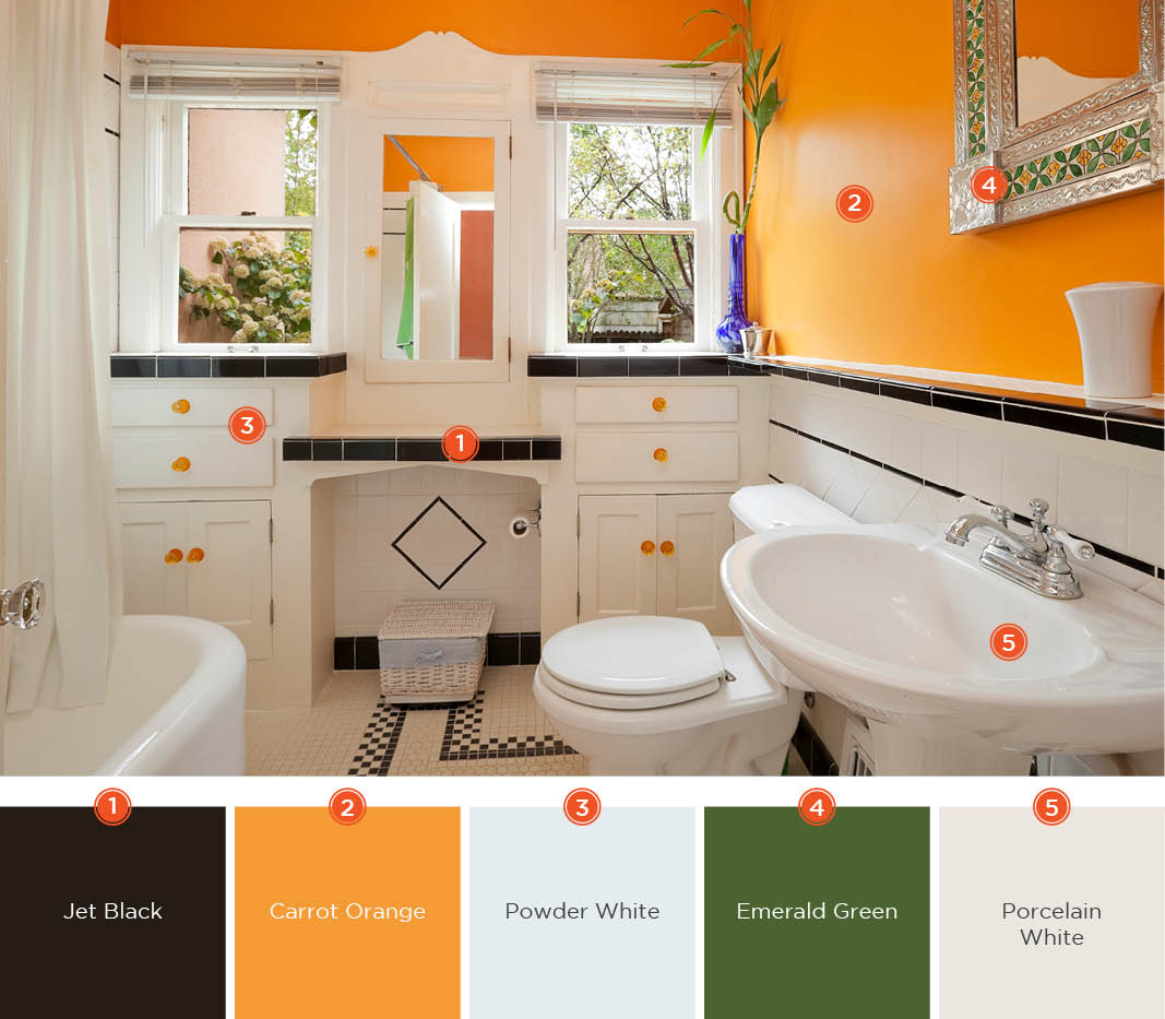 Bathroom Paints 20 Relaxing Bathroom Color Schemes Shutterfly