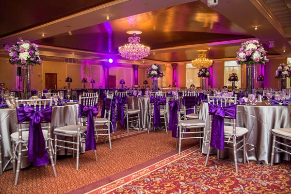 50+ Purple And Silver Wedding Color Ideas