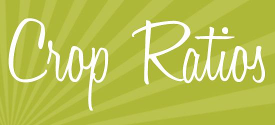Crop Ratios | Info