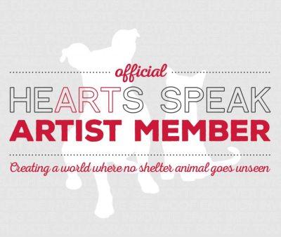 Proud HeARTs Speak member since 2014.
