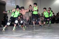 Chicks Ahoy vs Gore Gore Rollergirls 2