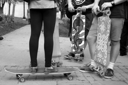 Longboarders Gather
