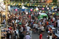 Night Market Crowd