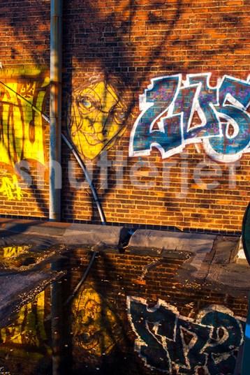 Sunset Graffiti