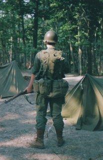 Korean War U.S. Army infantry impression.