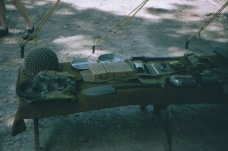 WWII-era combat load display.