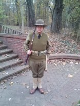 Same early-war impression, but out in the field, in training.