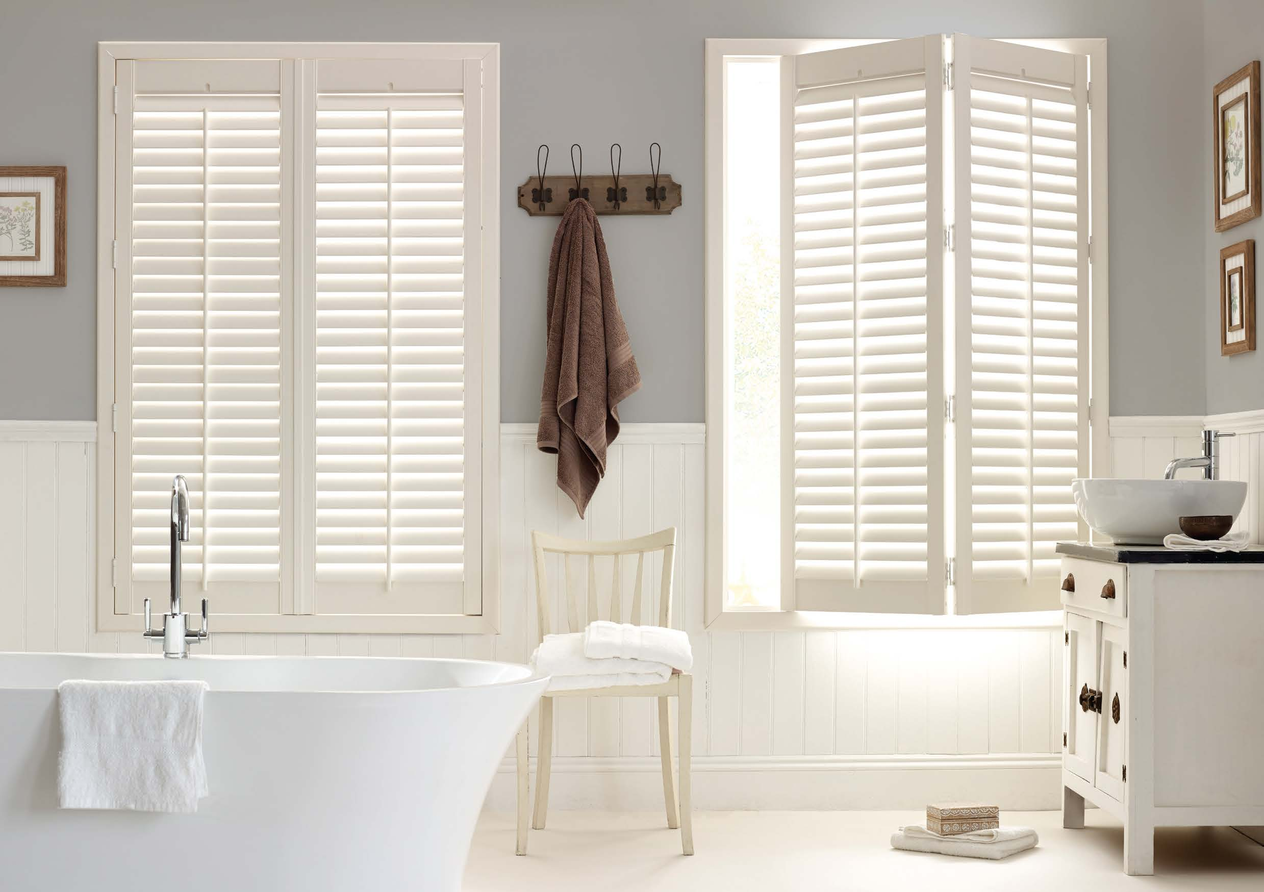 9 Reasons Plantation Shutters Are Perfect For Bathrooms