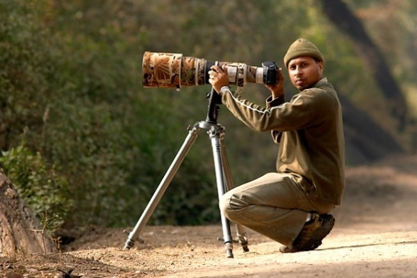 wildlife photographer Sudhir Shivaram
