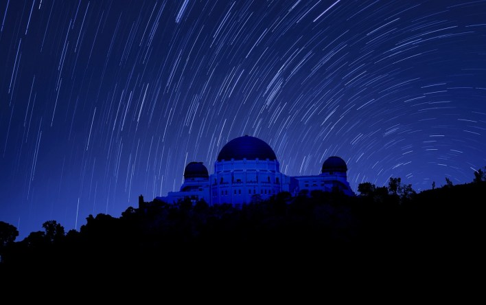 Los Angeles Griffith Observatory Night Photography