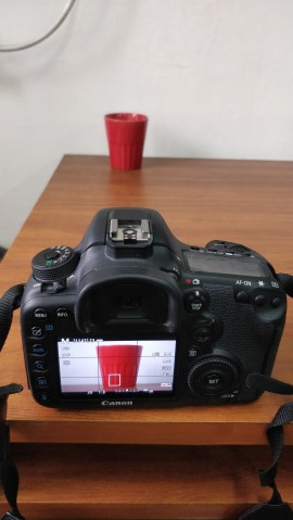 Set up to learn exposure in digital photography with canon 7d mark 2