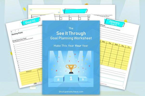 see it through goal planning workbook