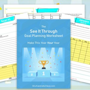see it through goal planning workbook