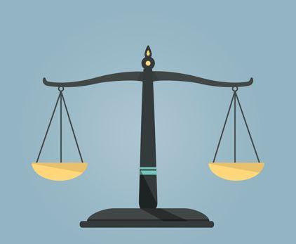 Balance you life like scales