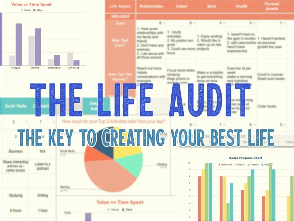 The Life Audit Workbook: Audit Your Life