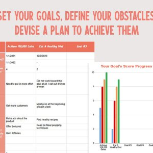 Devise a Plan To Achieve Your Goals