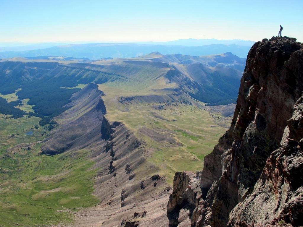Uncompahgre Peak Colorado Beautiful Places Best Places