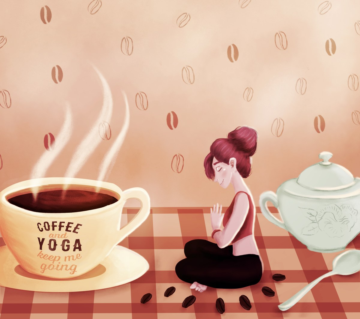 The yoga sutras of a caffeine junkie my brain is hooked on coffee when i notice myself thinking i am a coffee addict i breathe smile and follow that thought with this one i am a human being that is enthusiastic izmirmasajfo Image collections