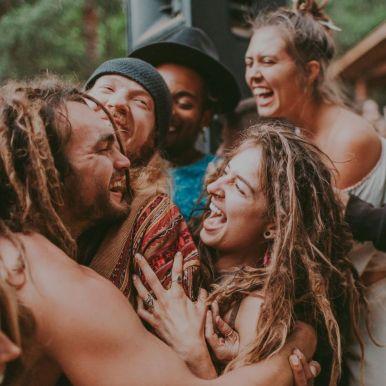 Beloved Festival hug