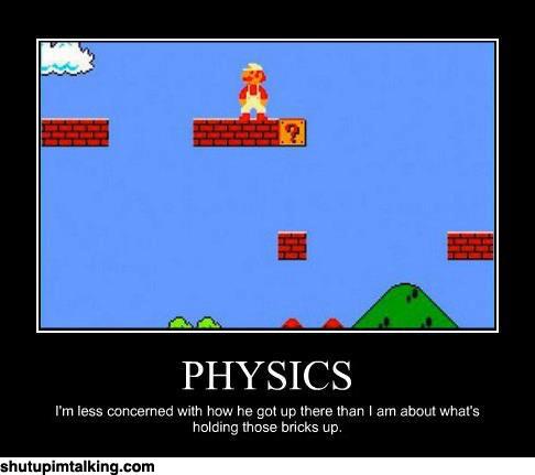 Physics fail  Shut Up Im Talking