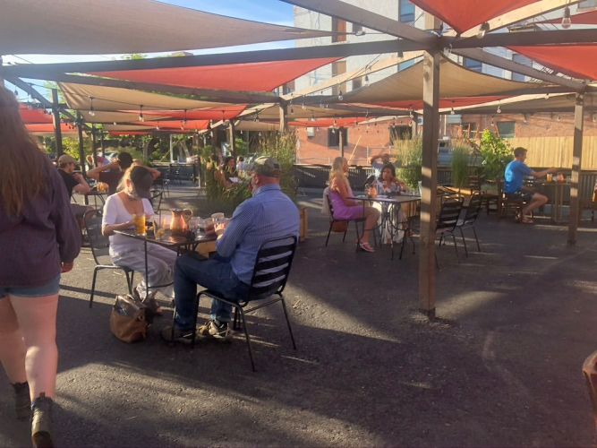 best patios in downtown missoula - the top hat