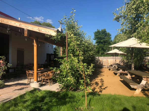 patios in missoula - western cider