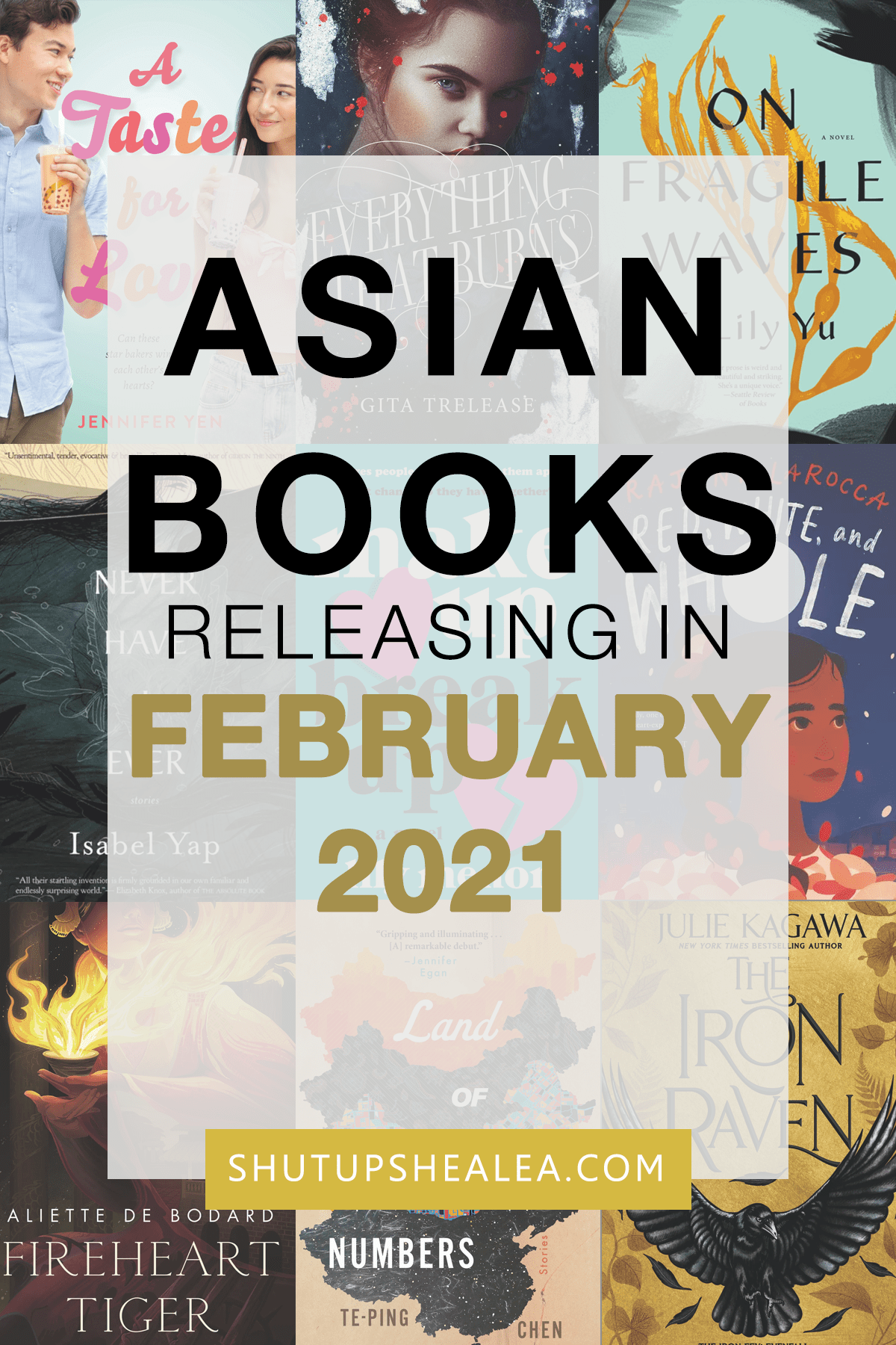 Books on the Rice: February 2021 releases from Asian authors