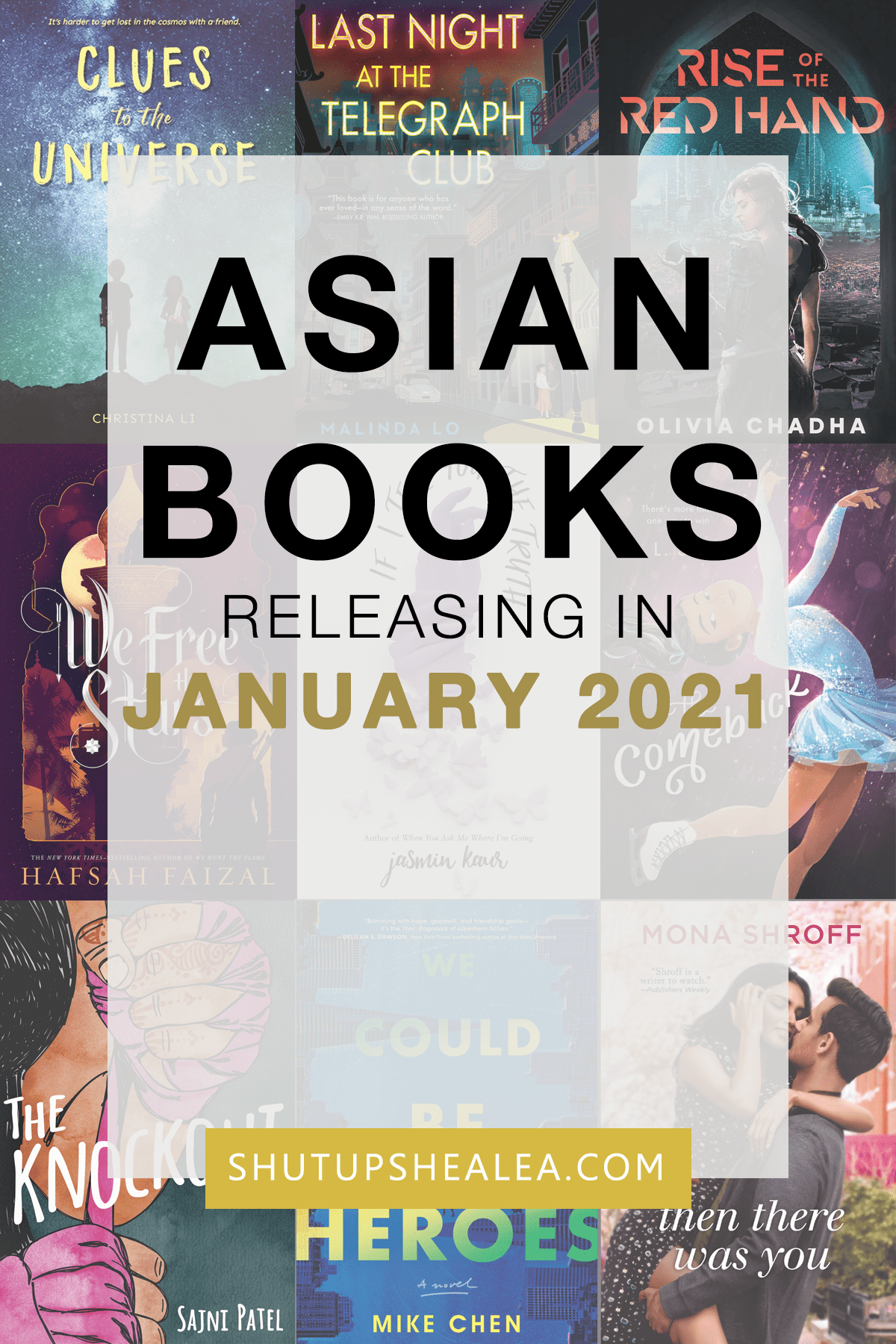 Books on the Rice: January 2021 releases from Asian authors